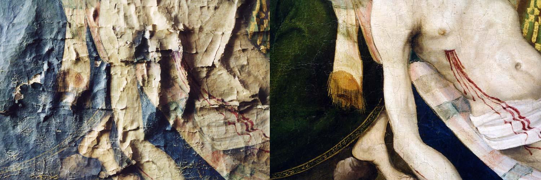 Nous restaurons les oeuvres peintes avec passion