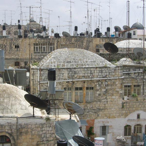 Les toîts de Jérusalem
