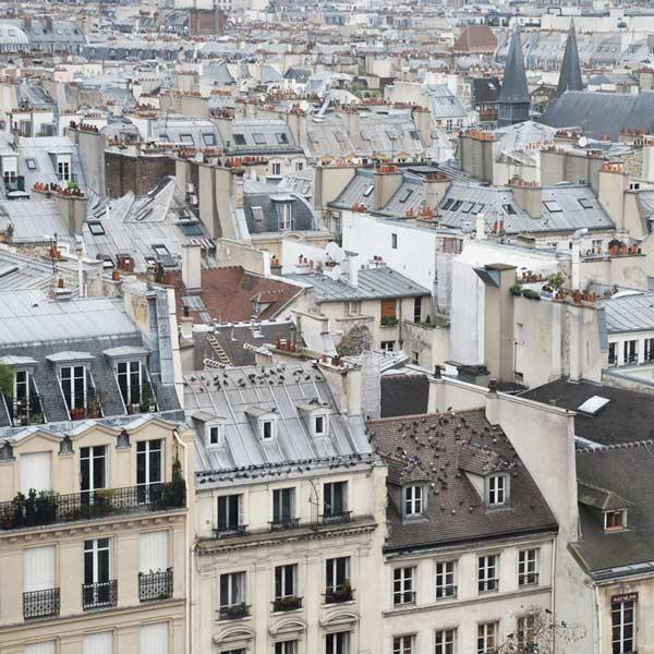 Les toîts de Paris